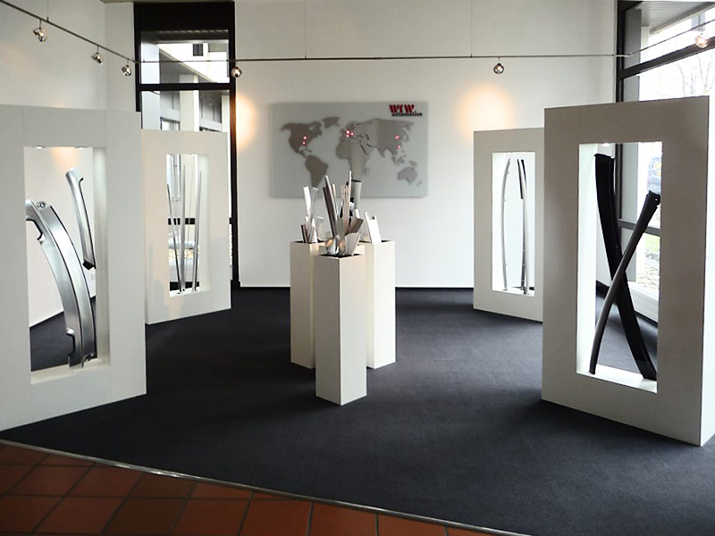 studio-s, Design + Realisierung, Automotive Parts Dauerausstellung